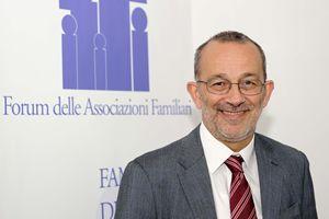 Francesco Belletti, presidente del Forum delle Associazioni familiari