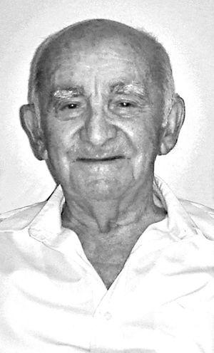 Gjovalin Zezaj, ex deportato e carcerato, oggi 86 anni.