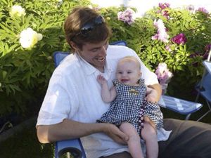 James Foley con la nipotina.
