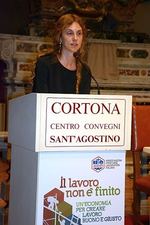 Marianna Madia (Le foto sono di Marco Giorgetti).