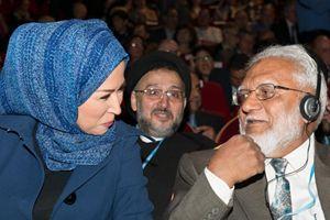 Anversa, Belgio. Alcuni momenti dell'Incontro internazionale delle religioni per la pace (foto gentilmente concesse dalla Comunità di Sant'Egidio che ha organizzato l'evento).