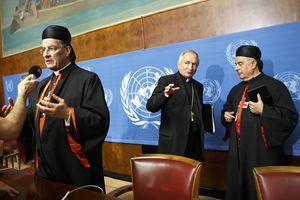 Silvano Maria Tomasi, nunzio vaticano presso l'Onu.