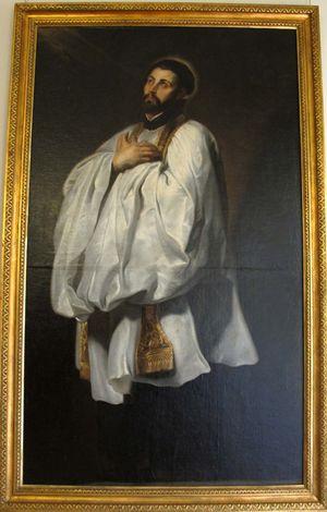 san Francesco Saverio in una tela di Pieter Paul Rubens