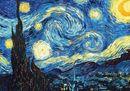 9. The starry night, Van Gogh, 1889