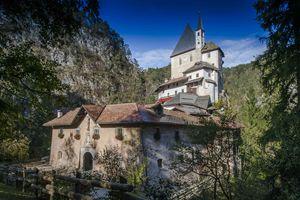 eramo di San Romedio in Val di Non, Trentino