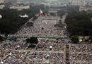 Quasi sette milioni di fedeli alla Messa del Papa