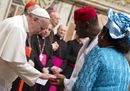 Pope Francis greets_11