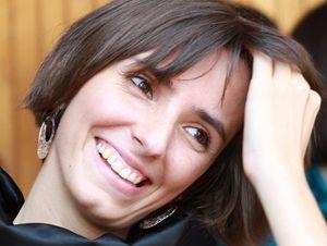 """Anna Granata, l'autrice di """"Diciottenni senza confini""""."""