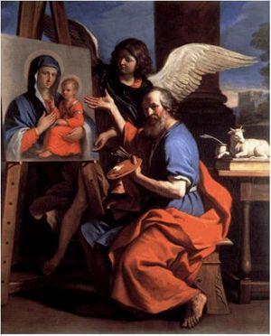 Guercino, San Luca Evangelista