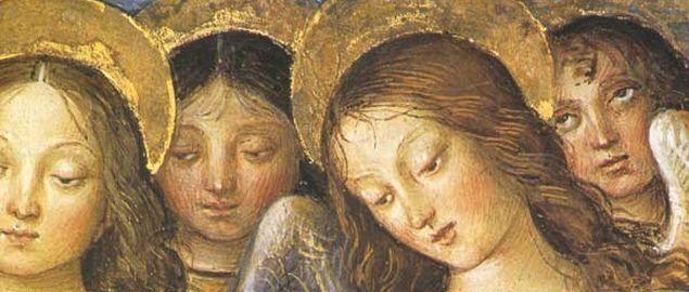 Risultati immagini per saremo come angeli che vedono in faccia dio