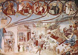 Lorenzo Lotto, Martirio di Santa Barbara, Cappella Suardi, Trescore Balneario (BG)