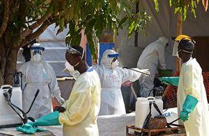 Uno dei centri di trattamento di ebola del Cuamm, ora in via di chiusura.