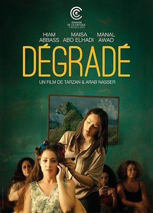 La locandina di uno dei film della rassegna: Dégradé, ambientato nella Striscia di Gaza.