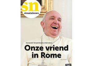 L'intervista concessa dal Papa al giornale di strada olandese Straatnieuws