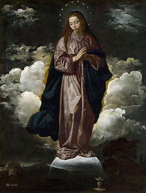 Diego Velázquez, Immacolata Concezione