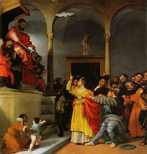 Lorenzo Lotto, Santa Lucia davanti al giudice
