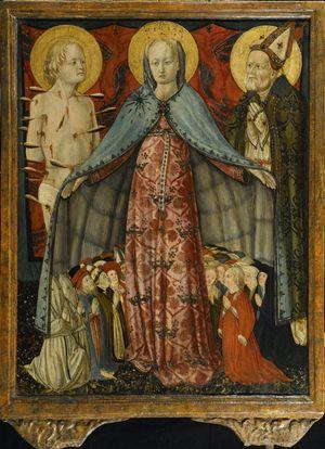 L'icona della Madonna della Misericordia di Antonio da Fabriano