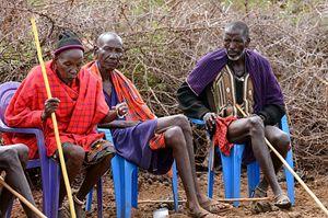 Anziani masai.