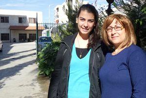 Zarifa e la figlia Zena.