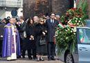 Renzi e Prodi ai funerali di Michele Ferrero