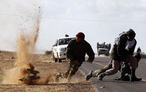 I combattimenti in Libia (Reuters).
