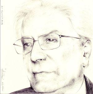 Il presidente Sergio Mattarella in un ritratto realizzato dallo scultore Luigi Oldani.