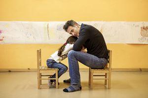 Enrico con Alice. Foto di Fabrizio Annibali