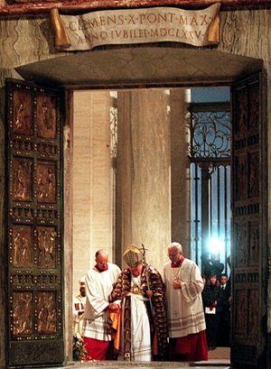 Ancora Papa Giovanni Paolo II in occasione del Grande Giubleo del 2000.