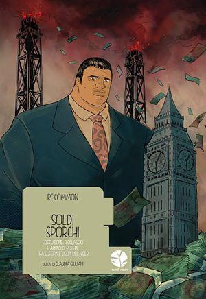 La copertina della graphic novel, disegnata da Claudia Giuliani (La foto di apertura dell'articolo è di Luca Tommasini).
