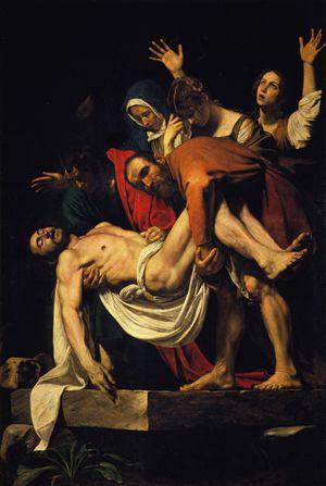 Caravaggio, La Deposizione di Cristo (1602-1604)