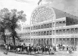 Il Crystal Palace, l'edificio simbolo della Great Exhibition di Londra nel 1851, la prima esposizione universale