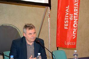 Loris De Filippi, presidente di Msf Italia (Foto Marco Giorgetti).