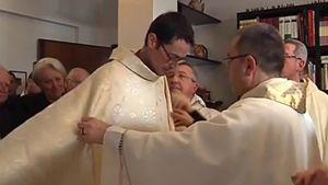 Don Salvatore il giorno della sua ordinazione presbiterale.