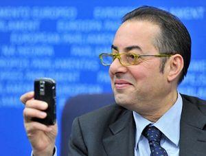 L'eurodeputato Gianni Pittella, capogruppo dei Socialisti e Democratici.