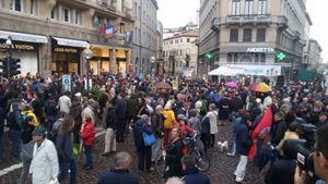 la manifestazione del 15 maggio a Padova