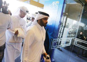 Hassan al-Thawadi, presidente del Comitato del Qatar per l'organizzazione dei Mondiali (Reuters).