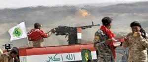 Soldati dell'esercito iracheno al fronte contro l'Isis (Reuters).