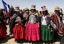 Bolivia4 28 agosto 2014, in ricordo della Marcia per la vita, a Calamarca, a sud di La Paz, foto Reutrers