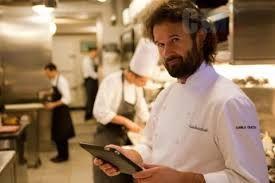 Lo chef Carlo Cracco, testimonial dell'iniziativa