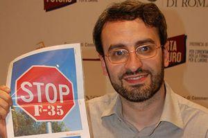 Francesco Vignarca, coordinatore della Rete Italiana Disarmo.