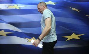 L'ex ministro dell'Economia greco Varoufakis (Reuters).
