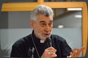 Monsignor Sergio Gualberti, bergamasco, da oltre 35 anni in Bolivia, vescovo di Santa Cruz de la Sierra.