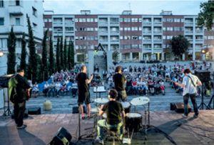 Il concerto dei Parrock a Segrate (foto: C. Russo).