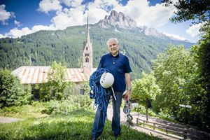 don Erminio Vanzetta a Vigo di Fassa