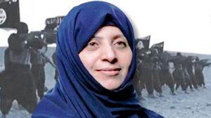 Un'immagine dell'avvocato Samira Salih al-Nu'aymi, molto attiva per la difesa dei diritti umani, uccisa dall'Isis a Mosul. Foto tratta dal sito di Al-Arabiya News.