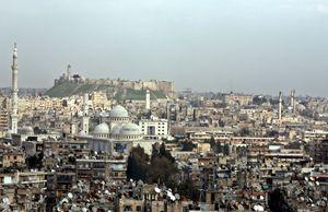 Una veduta di Aleppo, la seconda città siriana, prima che scoppiasse la guerra civile. Foto Reuters.