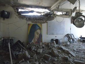 Chiesa distrutte in Siria. Le fotografie di questo servizio sono dell'agenzia Reuters.