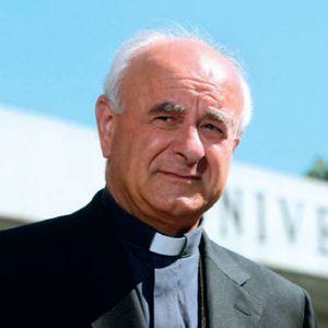 Monsignor Vincenzo Paglia, presidente del Pontificio consiglio per la famiglia.