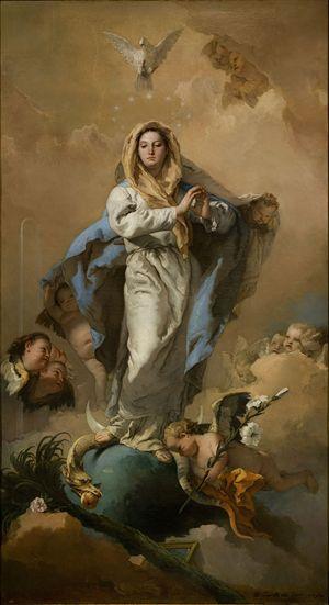 Giovanni Battista Tiepolo, Immacolata Concezione