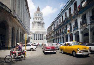 El Capitolio: così i cubani chiamano quella che fu la sede del Governo prima della rivoluzione castrista del 1959. Foto Reuters.